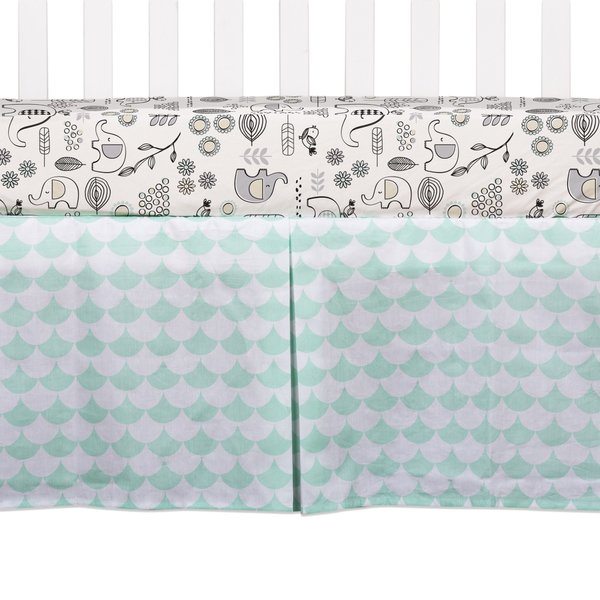 View larger image of Bed Skirt - Scallops