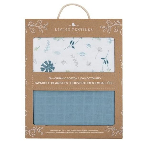 View larger image of Organic Muslin Swaddle - 2 Pack