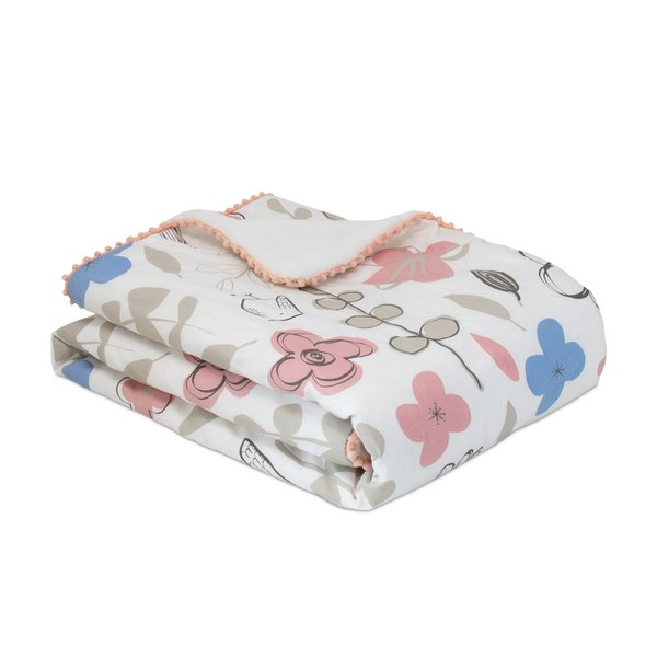 View larger image of Stroller Blanket - Mazie