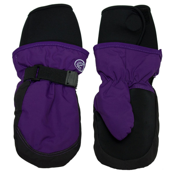 View larger image of Long Cuff Mitt - Purple - S