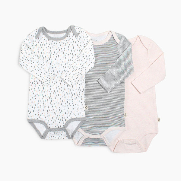 View larger image of Long Sleeve Onesie 3pk - Girl - 24M