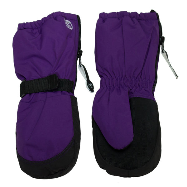 View larger image of Long Zipper Mitt-Purple-S