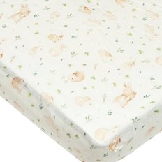Fitted Muslin Crib Sheets