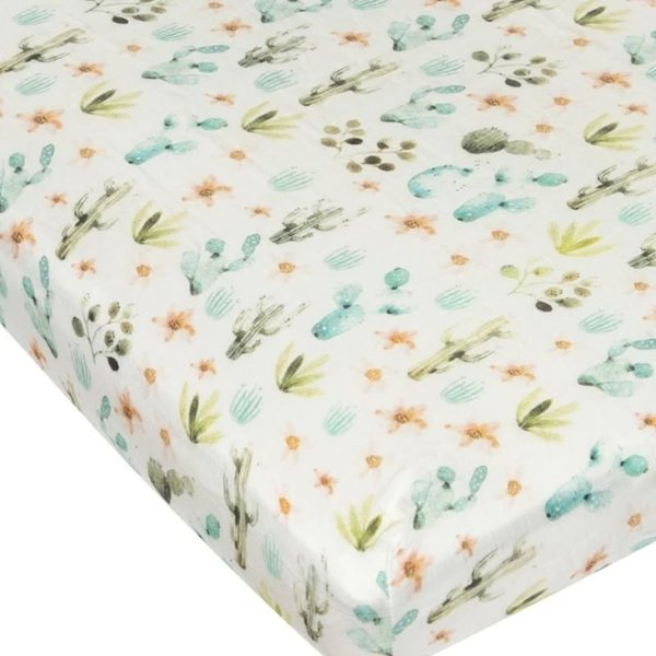 View larger image of Fitted Muslin Crib Sheets