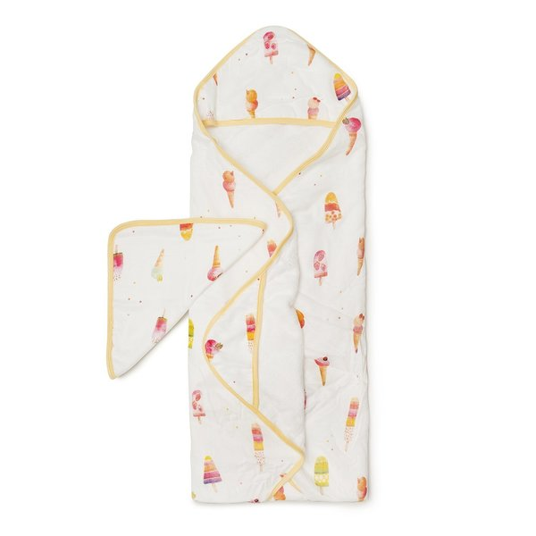 View larger image of Hooded Towel + Wash Cloth Sets