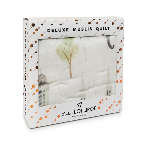 View larger image of Luxe Muslin Quilt - World Cities