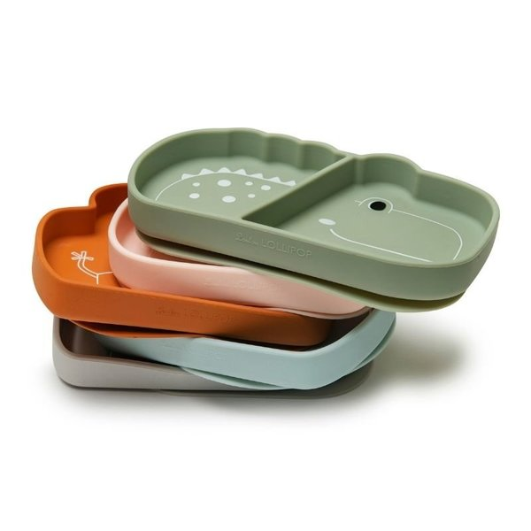 View larger image of Silicone Snack Plates