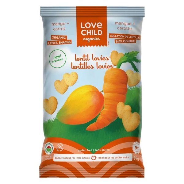 View larger image of Lentil Lovies Organic Snacks