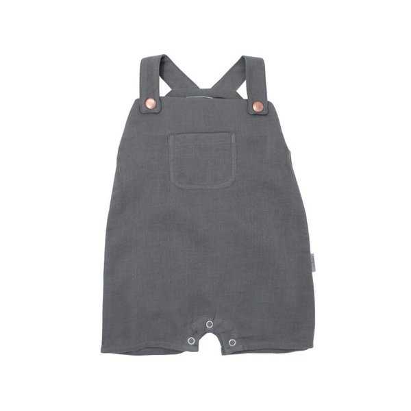 View larger image of Organic Muslin Overall - Grey
