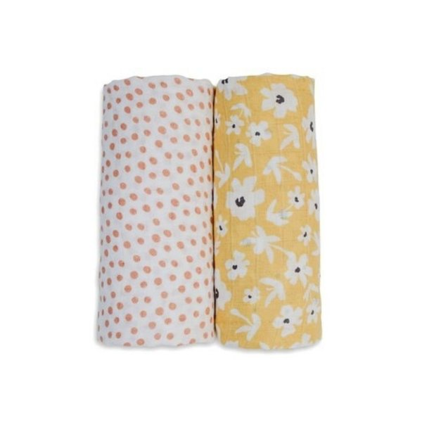 View larger image of Cotton Swaddles - 2 Pack