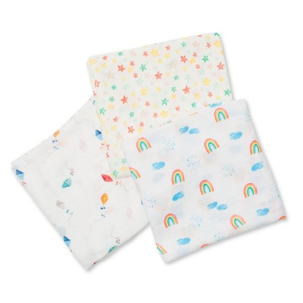 View larger image of Bamboo Swaddles - 3 Pack