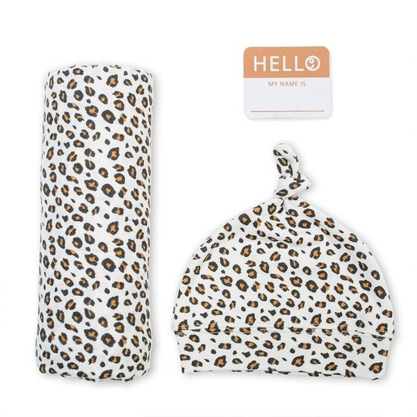 View larger image of Hello World Swaddle Set