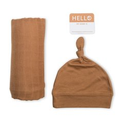 Hello World Swaddle Set