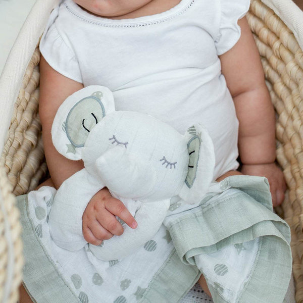 View larger image of Muslin Lovey