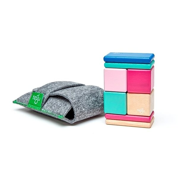 View larger image of Magnetic Wooden Blocks Pocket Pouches - 8pc