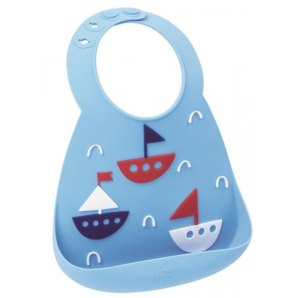 View larger image of Make My Day Bib - Ahoy Matey