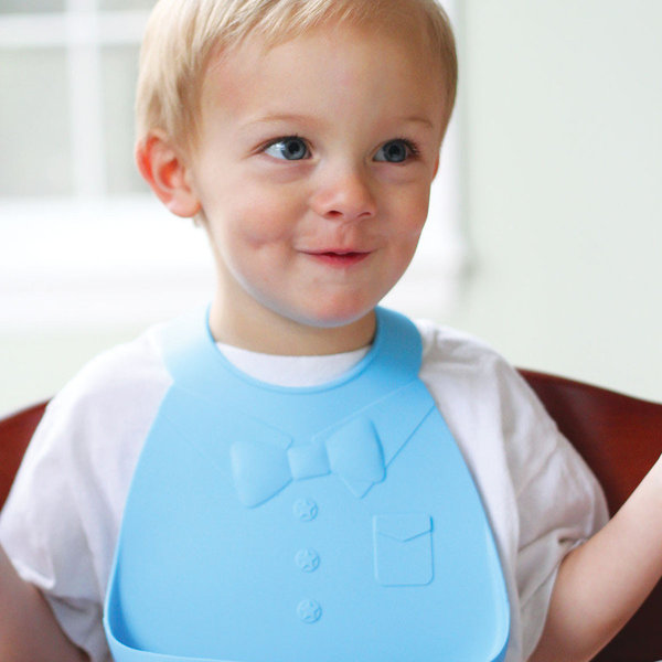 View larger image of Bib - Blue Bow Tie