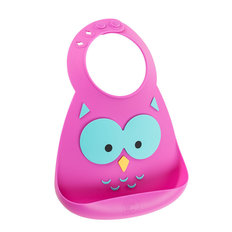 Make My Day Bib - Owl