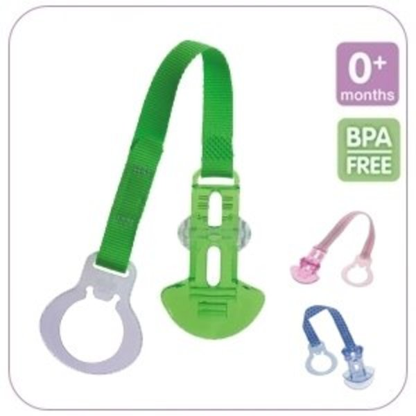 View larger image of Crystal Pacifier Clip