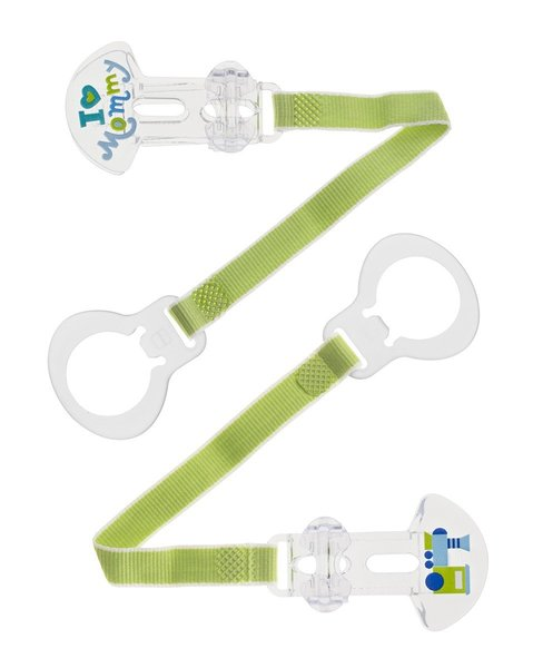 View larger image of Double Pacifier Clip