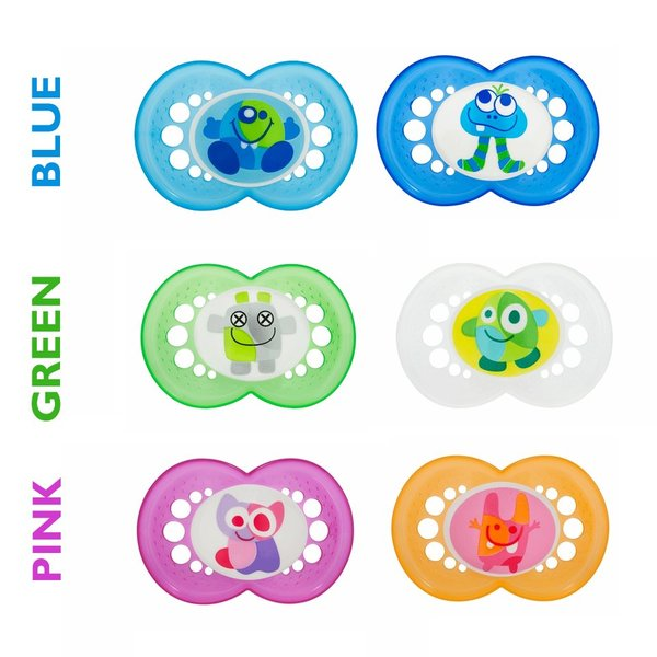 View larger image of Monsters Pacifiers 6M+