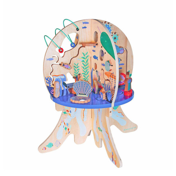 View larger image of Deep Sea Adventure Wood Activity Toy