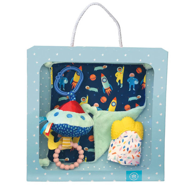View larger image of Blanket, Teether Mit & ToyGift Set