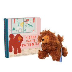Pierre Waits Patiently Book + Stuffed Animal Gift Set
