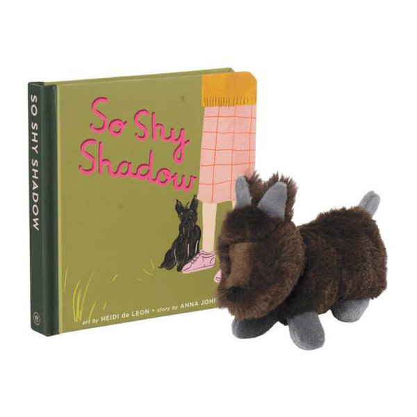 View larger image of So Shy Shadow Book + Stuffed Animal Gift Set