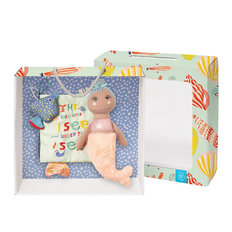 Soft book & Mermaid Doll Gift Set