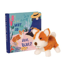 Why So Blue? Book + Stuffed Animal Gift Set