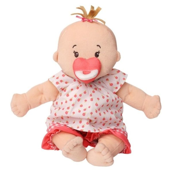 View larger image of Baby Stella Peach Doll with Light Brown Hair