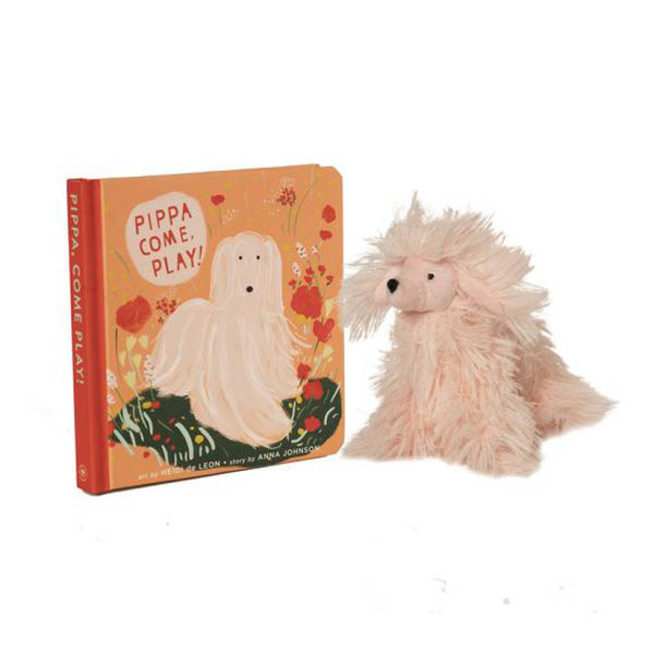 View larger image of Pippa, Come Play Book + Stuffed Animal Gift Set