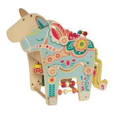 Wooden Playful Pony