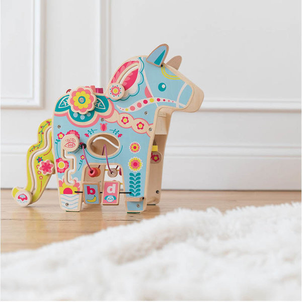 View larger image of Wooden Playful Pony