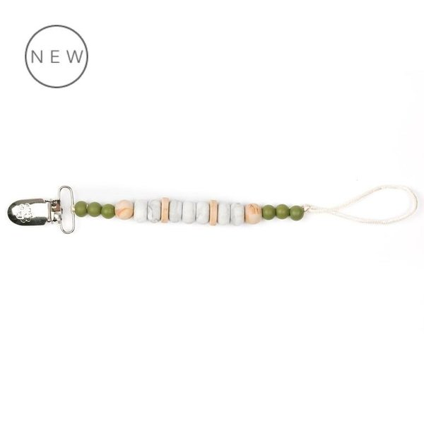 View larger image of Marble Pacifier Clip