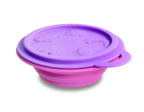 View larger image of Collapsible Bowl with Lid