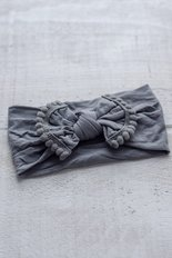 Marguerite Headband - Graphite