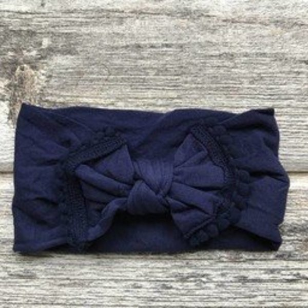 View larger image of Marguerite Headband - Navy Blue