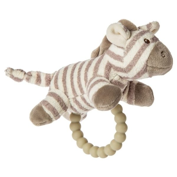 View larger image of Afrique Teether Rattle - Zebra