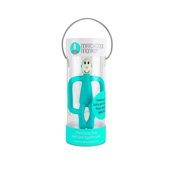 View larger image of Matchstick Monkey Teether Toy - Green