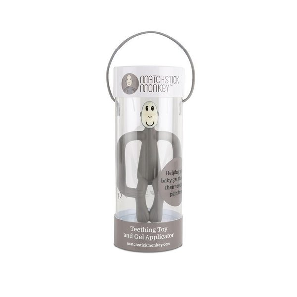 View larger image of Matchstick Monkey Teether Toy - Grey