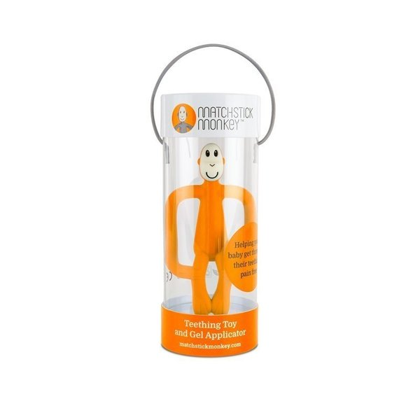 View larger image of Matchstick Monkey Teether Toy - Orange