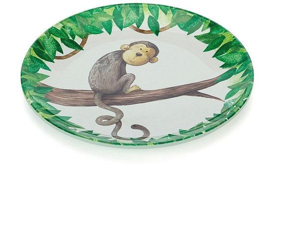 View larger image of Mattie's Twirly Whirly Melamine Plate