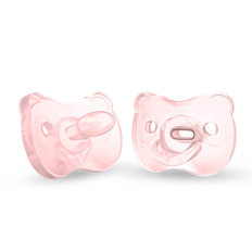 Soft Silicone Pacifiers - 2 Pack