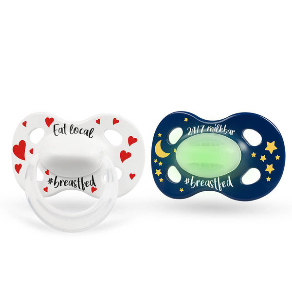 View larger image of Day & Night Pacifiers - 2 Pack