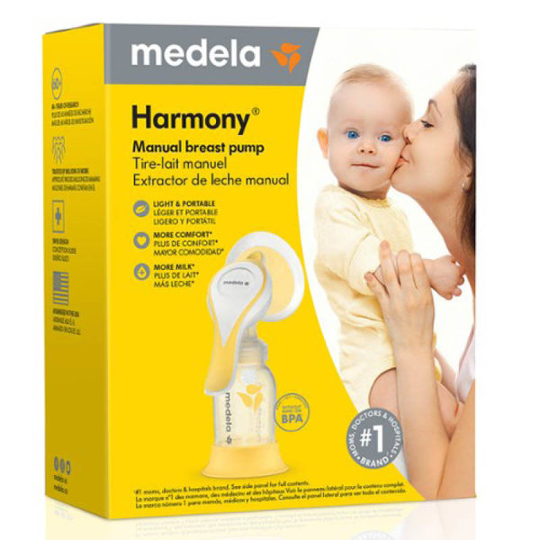 View larger image of Harmony Manual Breast Pump with PersonalFit Flex