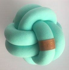 Medium Knot Pillow Mint