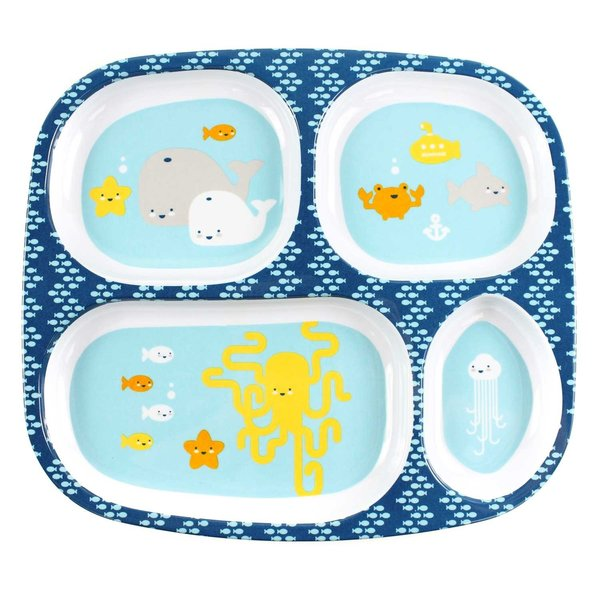 View larger image of Melamine Plate - Balloons