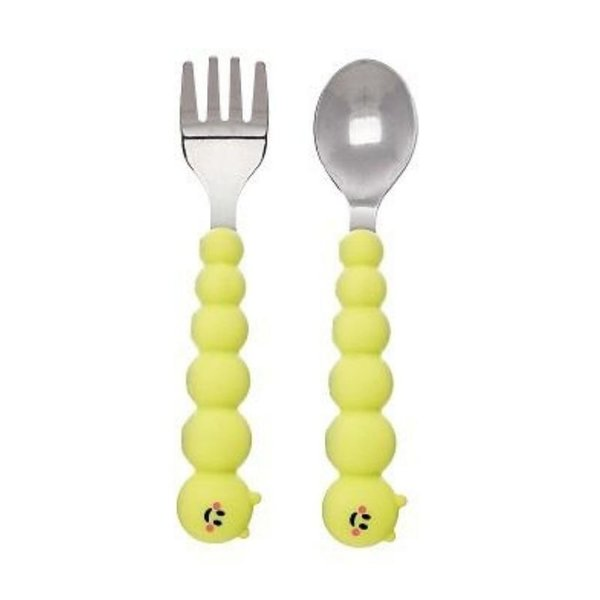 View larger image of Caterpillar Spoon & Fork Set